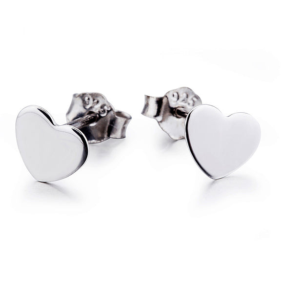 Seven Season Heart Stud Earrings