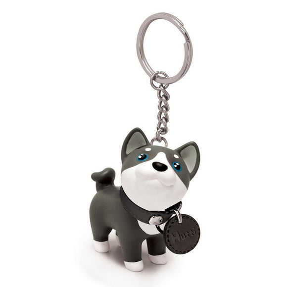 Seven Season Pet Me Doggie Hutti Husky Key Chain Semk