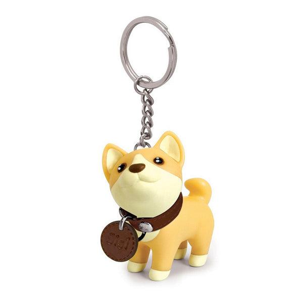 Seven Season Pet Me Doggie Sisi Shiba Inu Key Chain Semk