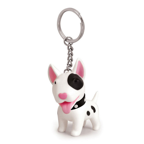 Seven Season Pet Me Doggie Terri Bull Terrier Key Chain Semk
