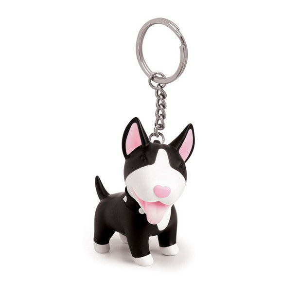 Seven Season Pet Me Doggie Torri Bull Terrier Key Chain Semk