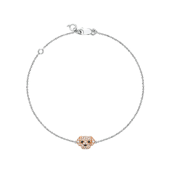 Seven Season Puppy Wang Wang Petite Golden Retriever Bella Bracelet