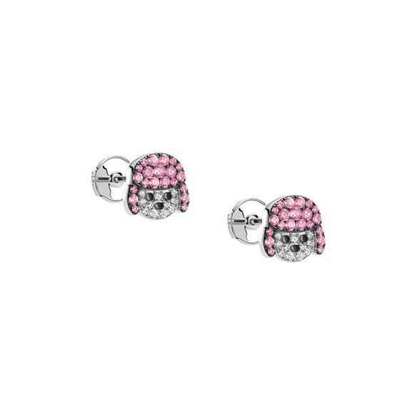Seven Season Puppy Wang Wang Petite Sophie Toy Poodle Stud Earrings