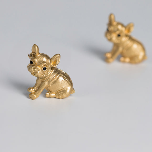 Seven Season Sweet Love for Pets French Bulldog Brooch