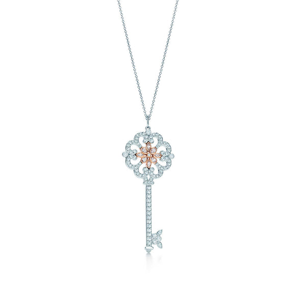 Seven Season Unlock Happiness Enchant Primrose Key Pendant Necklace