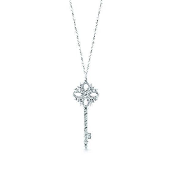 Seven Season Unlock Happiness Victoria Key Pendant Necklace