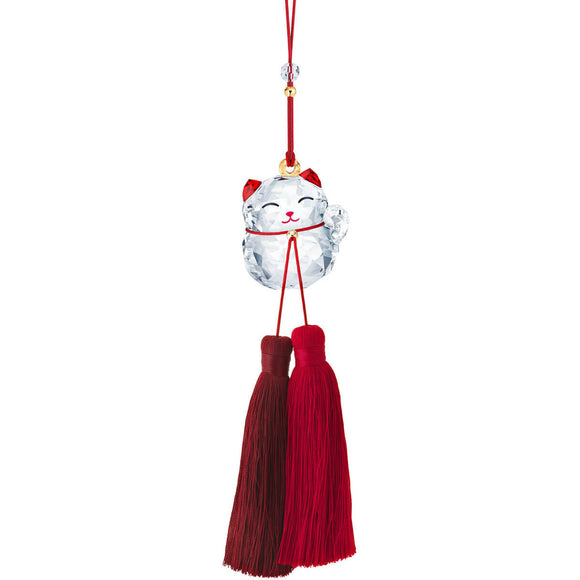 Swarovski Lucky Cat Ornament -Seven Season