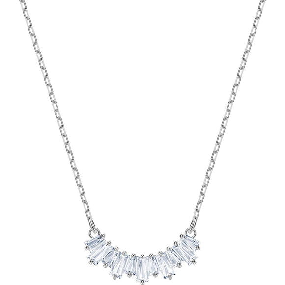Swarovski Sunshine White Rhodium Plating Necklace-Seven Season
