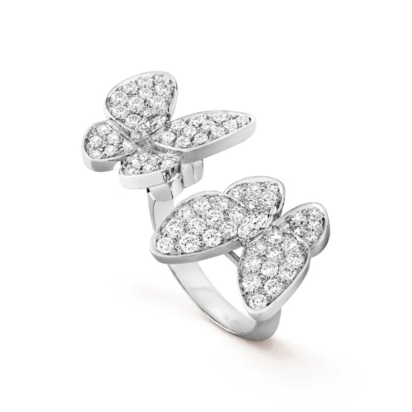 Van Cleef & Arpels Double Butterfly Between the Finger Ring-Seven Season