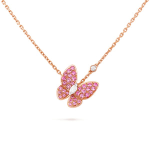 Van Cleef & Arpels Soaring Butterfly Pendant Necklace-Seven Season