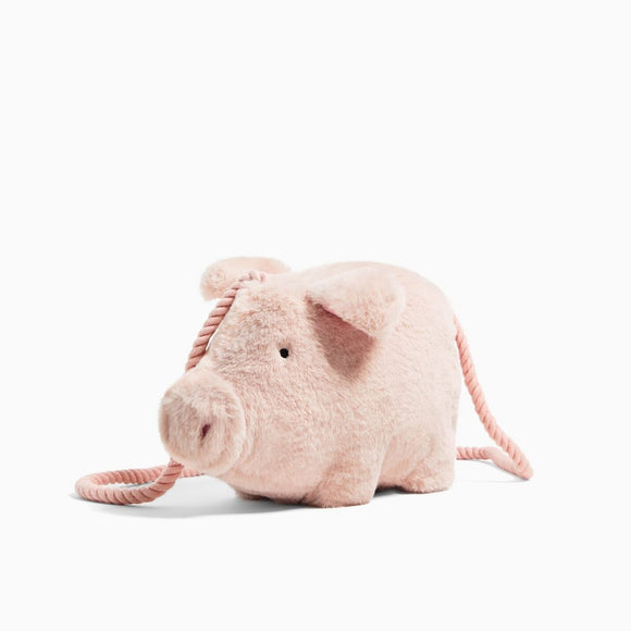 Zara Faux Fur Little Pig Crossbody Bag-Seven Season