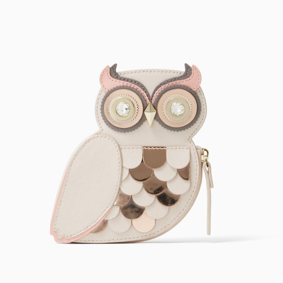 kate spade new york Blaze a Tail Owl Coin Purse-Seven Season