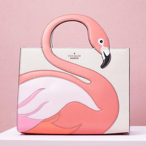 kate spade new york By the Pool Flamingo Sam Handbag-Seven Season