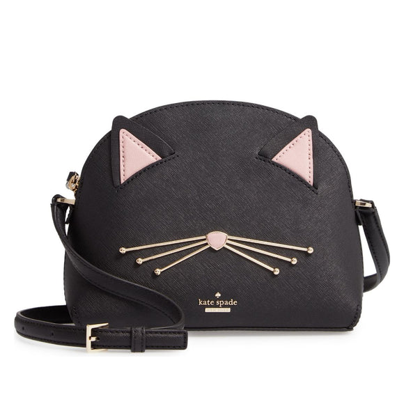 kate spade new york Cat's Meow Large Hilli Leather Bag-Seven Season