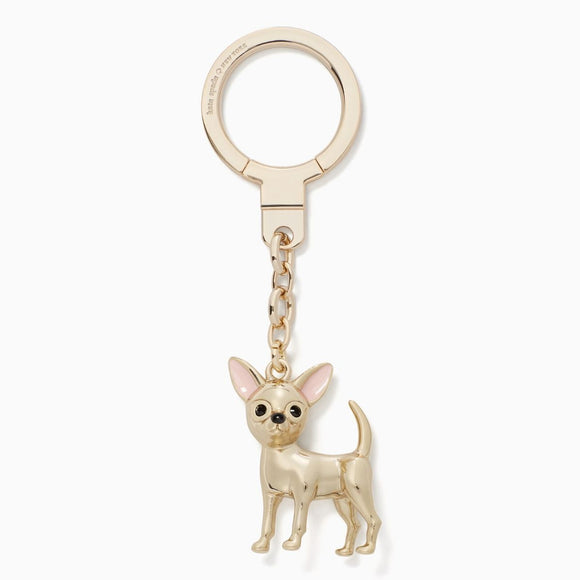 kate spade new york Chihuahua Puppy Dog Keychain-Seven Season
