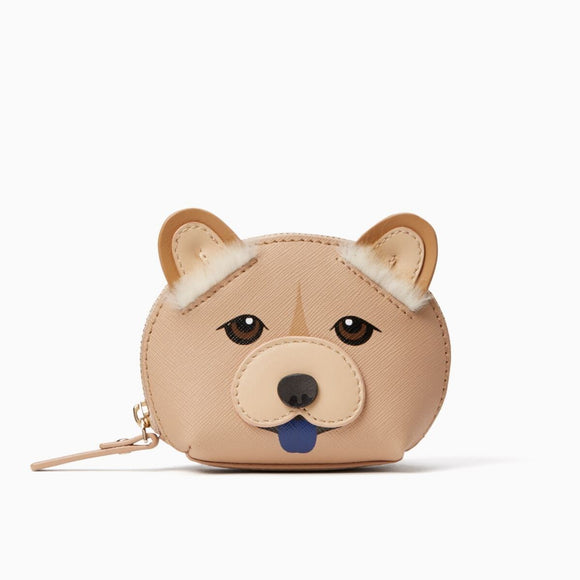 kate spade new york Chow Chow Year of the Dog Dumpling Coin Purse-Seven Season