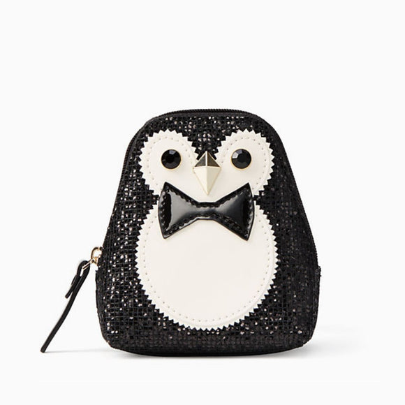 kate spade new york Clifton Lane Penguin Coin Purse-Seven Season