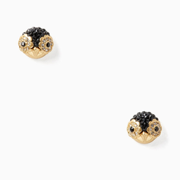 kate spade new york Dashing Beauty Penguin Stud Earrings-Seven Season