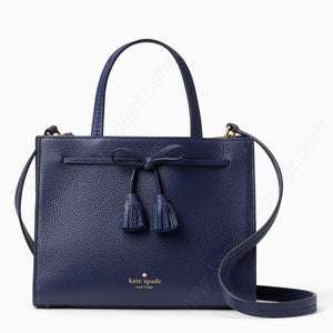 kate spade new york Hayes Street Isobel Blue Ridge Sam Satchel Bag-Seven Season