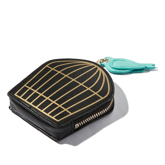 kate spade new york Hello Shanghai Birdcage Coin Purse-Seven Season