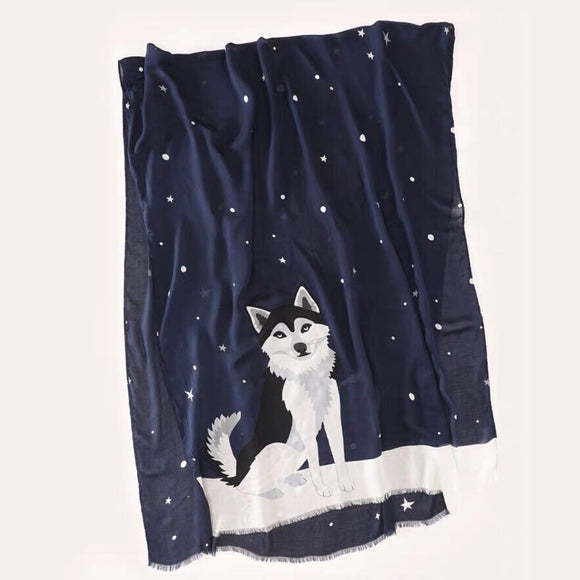 kate spade new york Husky Oblong Scarf-Seven Season