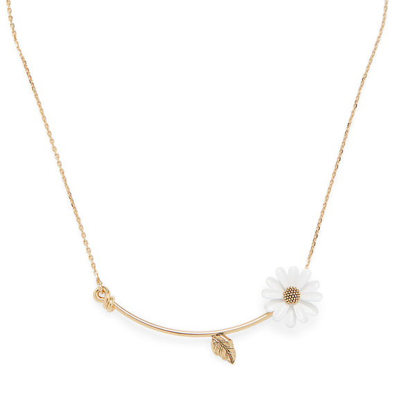 kate spade new york Into the Bloom Mini Necklace-Seven Season