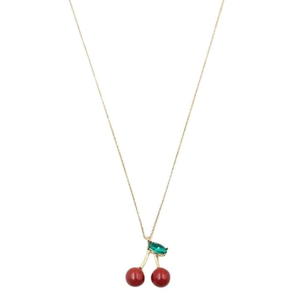 kate spade new york Magnolia Bakery Cherry Pendant Neklace -Seven Season
