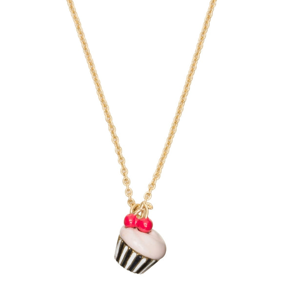 kate spade new york Magnolia Bakery Cupcake Pendant Necklace-Seven Season