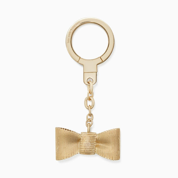kate spade new york Metallic All Wrapped Up Bow Keychain-Seven Season