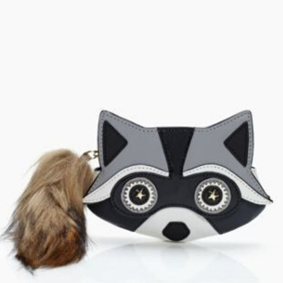 kate spade new york Night Creatures Raccoon Coin Purse-Seven Season