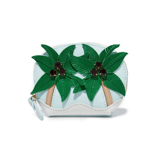 kate spade new york Palm Tree Coin Purse-Seven Season