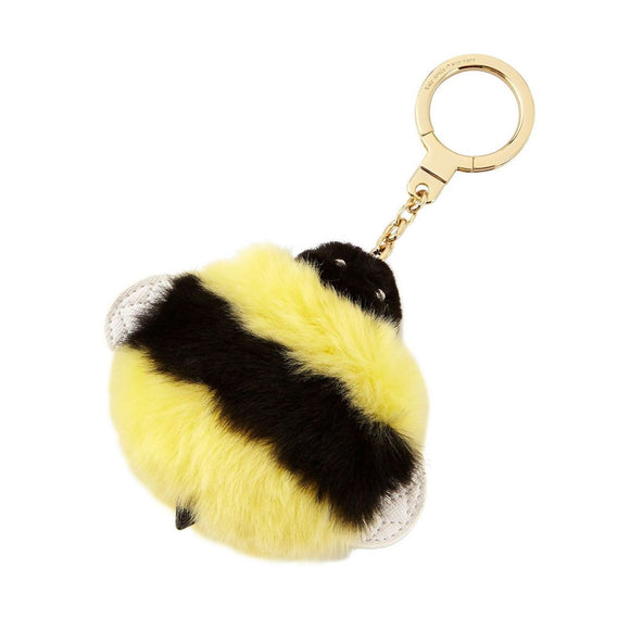 kate spade new york Queen Bee Pom Pom Key Chain-Seven Season