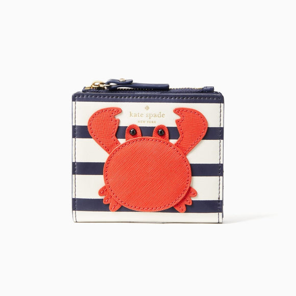kate spade new york Shore Thing Crab Adalyn Wallet-Seven Season