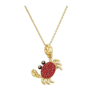 kate spade new york Shore Thing Pave Crab Necklace-Seven Season