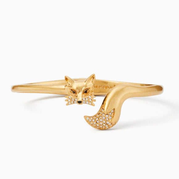 kate spade new york So Foxy Fox Open Hinge Cuff-Seven Season