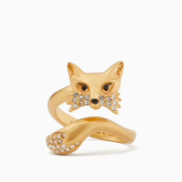 kate spade new york So Foxy Fox Ring-Seven Season