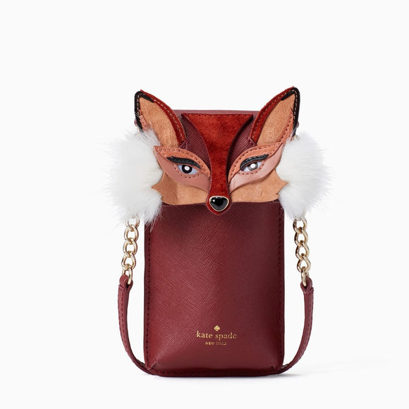 kate spade new york So Foxy Fox Smartphone Case Crossbody Bag-Seven Season