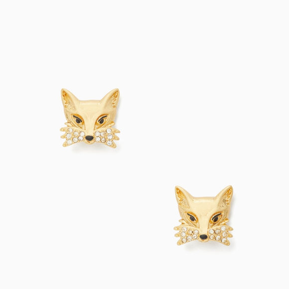 kate spade new york So Foxy Fox Studs-Seven Season