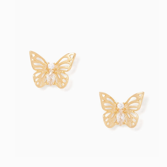 kate spade new york Social Butterfly Stud Earrings-Seven Season