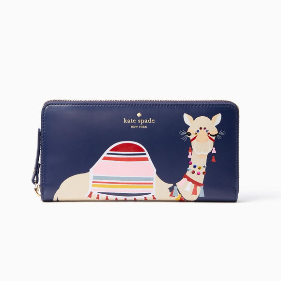 Spice Things Up Camel Lacey Wallet