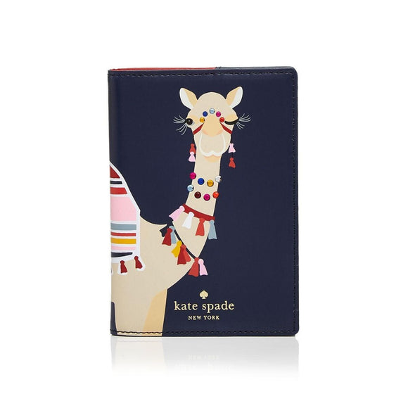 kate spade new york Spice Things Up Camel Passport Case-Seven Season