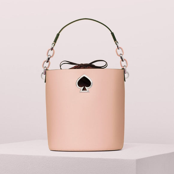 kate spade new york Suzy Small Cosmetic Pink Bucket Bag-Seven Season