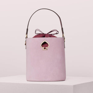kate spade new york Suzy Suede Small Sweet Pea Bucket Bag-Seven Season