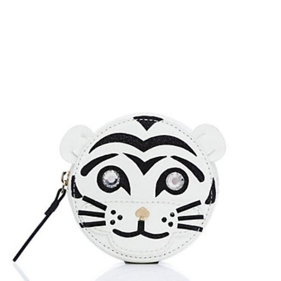 kate spade new york Taft Street Tiger Coin Purse-Seven Season