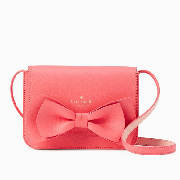 Vanderbilt Place Hanni Bow Pink Crossbody Bag