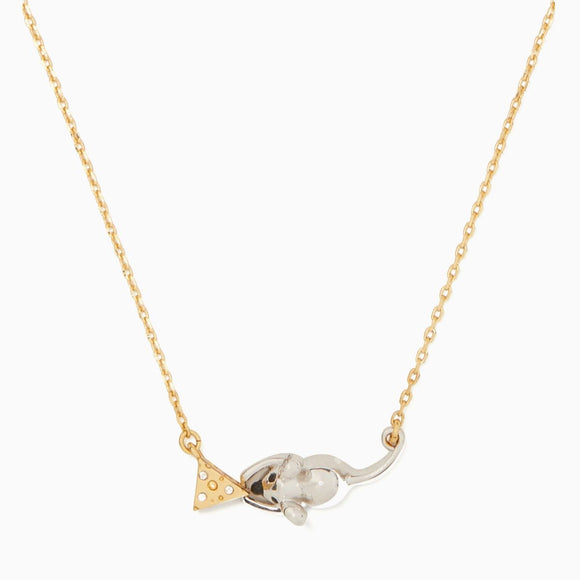 kate spade new york Year of the Rat Mini Pendant Necklace-Seven Season