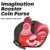kate spade new york Imagination Rooster Coin Purse-Seven Season