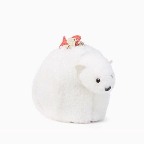 kate spade new york Cold Comforts Polar Bear Coin Purse-Seven Season