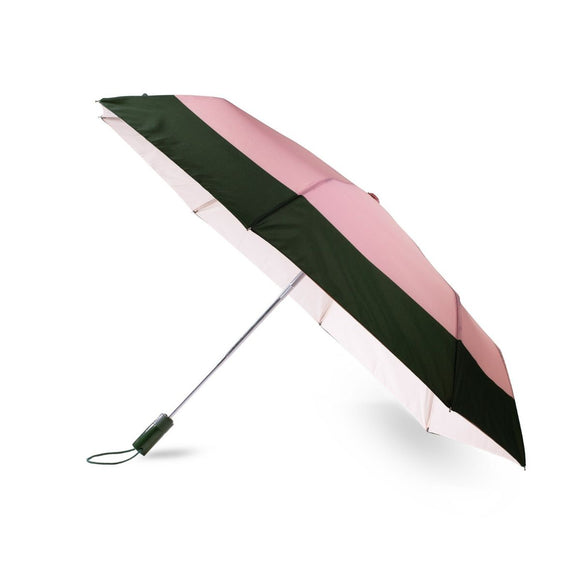 kate spade new york Colorblock Travel Umbrella-Seven Season