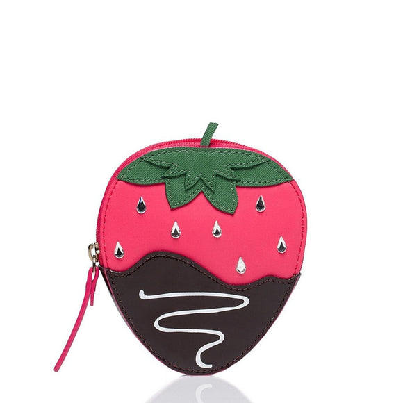 kate spade new york Crème De La Crème Strawberry Coin Purse-Seven Season